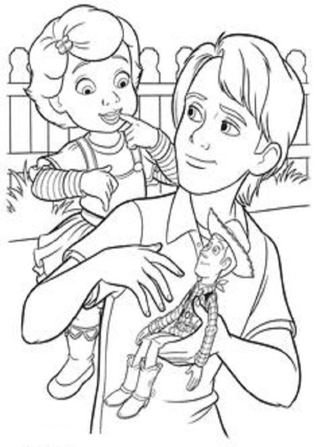 Pin de RONITA KNABE en Dibujos para colorear Toy Story ...