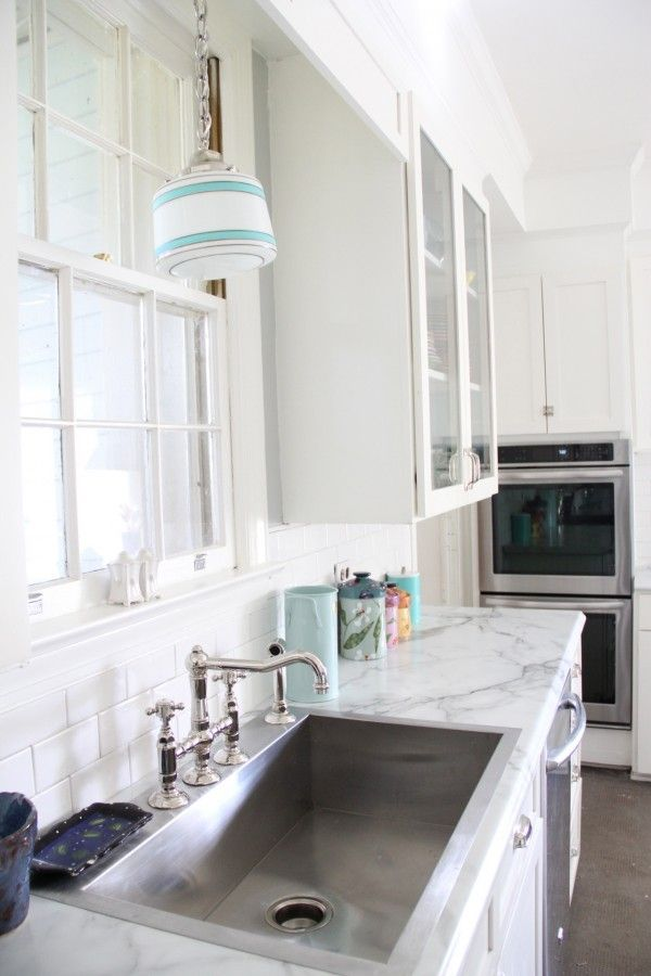 Monday Makeover Kitchen Part One The Marble Countertops