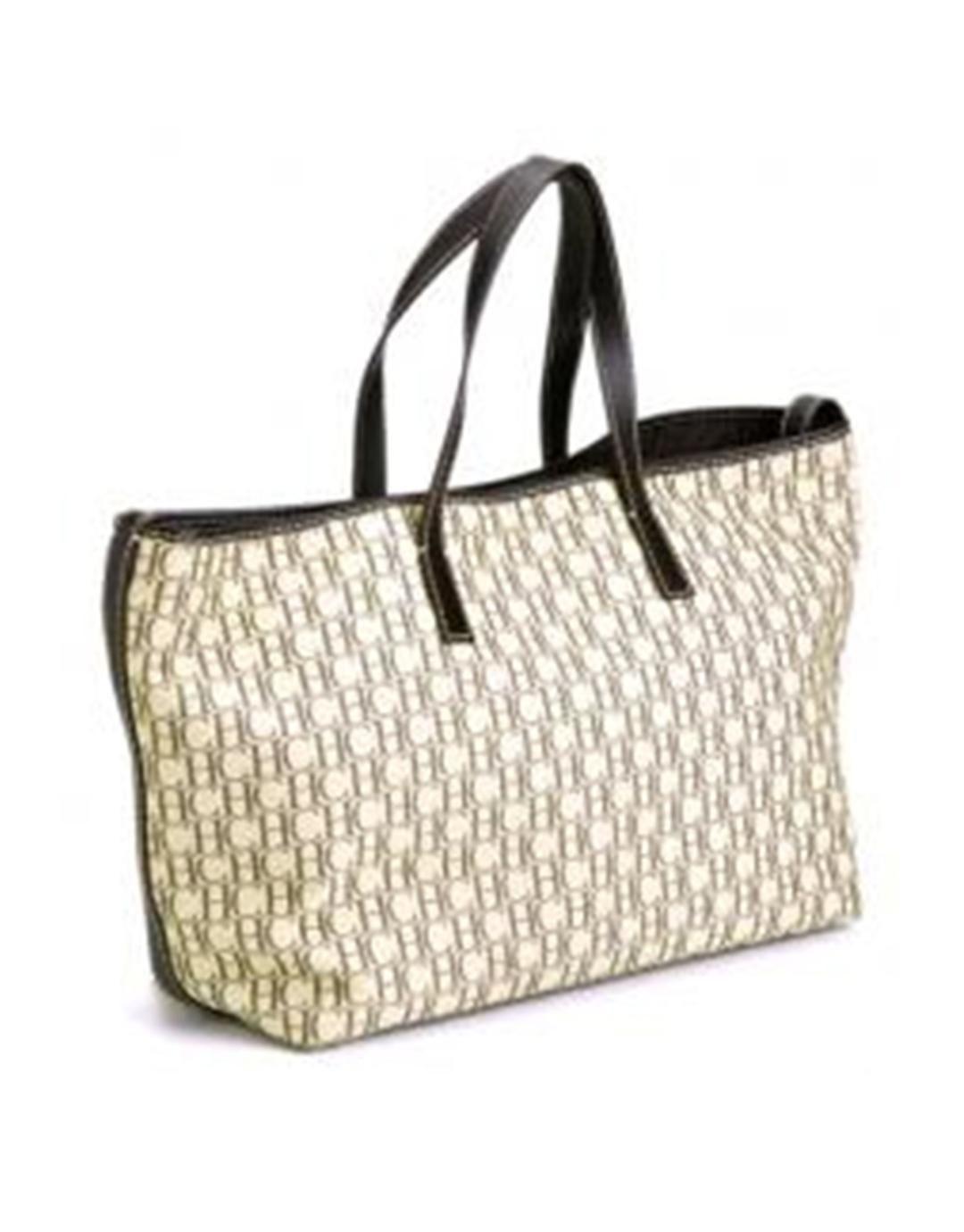 Bolsas HERRERA Bolsos Pinterest bag Shopping beige CAROLINA WnttIR