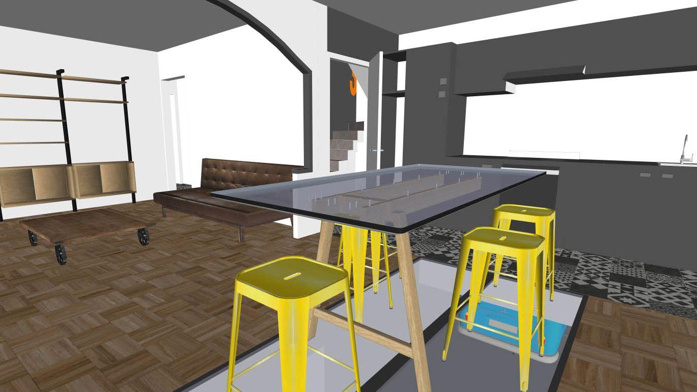 Architecte D Intérieur Brest projet de rénovation d'une maison individuelle à guipavas