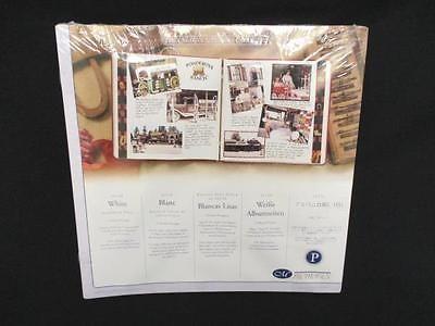 Creative Memories 12x12 Scrapbook Refill Pages White P Series Nip