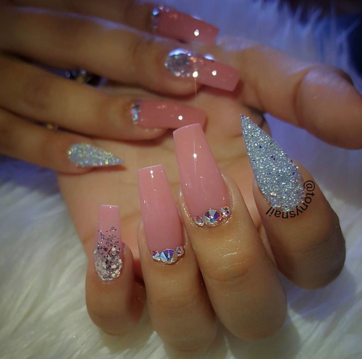 Pin by Karla Campo on Nails | Pinterest | Instagram, Nail nail and ...