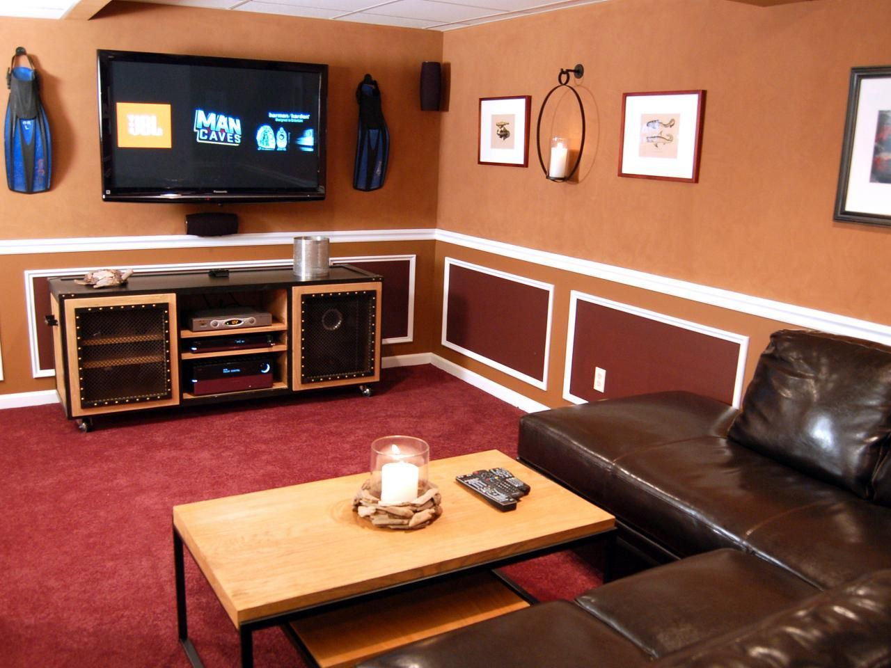Chillaxation Man Caves Man Caves Diy Man Cave Room Small