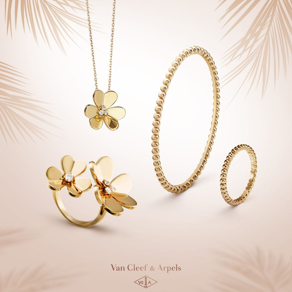 Enjoy a warm summertime with a selection of van cleef u arpels