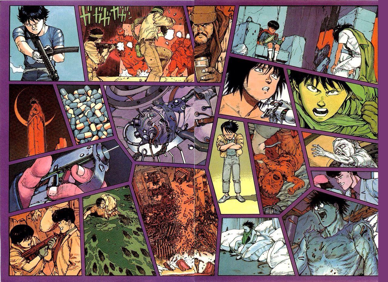 Akira Katsuhiro Otomo Akira Illustration Japanimation