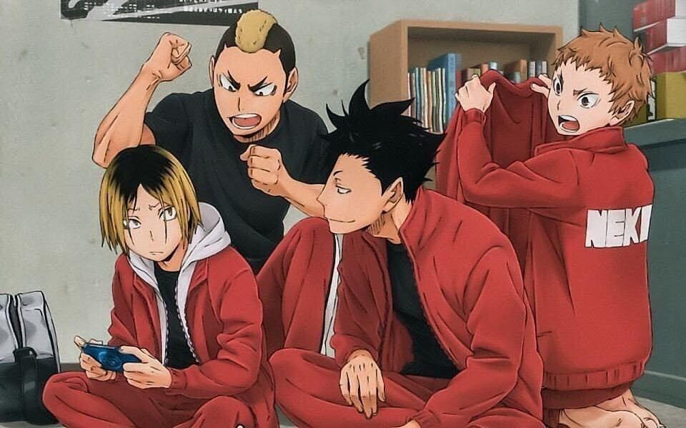 Nekoma Haikyuu Nekoma Haikyuu Anime Kuroo Haikyuu Discover more posts about haikyuu!!, kozume kenma, kuroo tetsurou, fukurodani, hq, yaku morisuke, and nekoma. nekoma haikyuu nekoma haikyuu anime