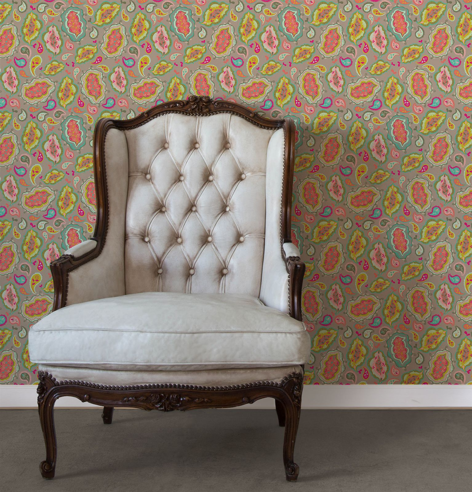 Betterdecoratingbible: The Easiest 2 Minute Makeover With Wallpaper Tiles