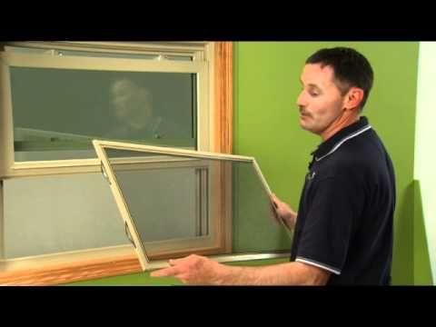 windows half screen drag how to remove half screen on double hung window youtube