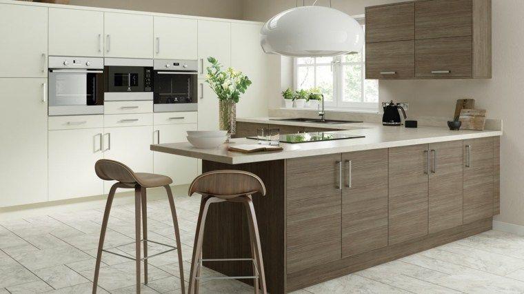 Küche für alle Liebhaber des modernen Designs Küche holz