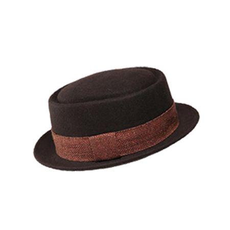 75c5114d8204c7 Wholesale #Customize #Wool #Felt #Pork #Pie #Hat #Supplier | Porkpie ...