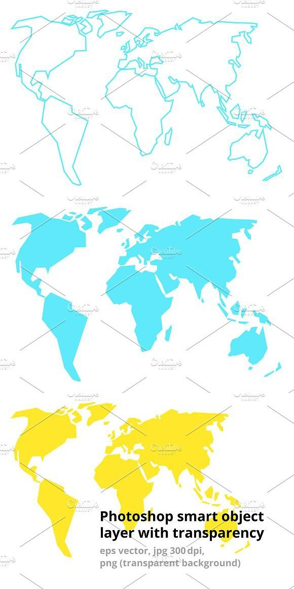 World simple map any formats icons gumiabroncs Image collections