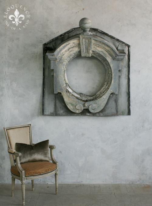 antique zinc window
