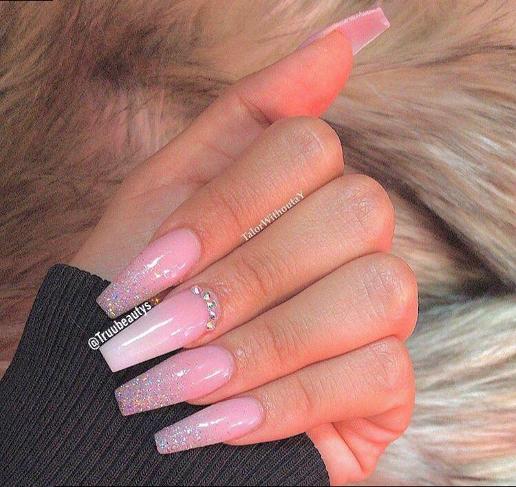 Truubeautys Nails Ballerina Nails Designs Long Square Acrylic Nails