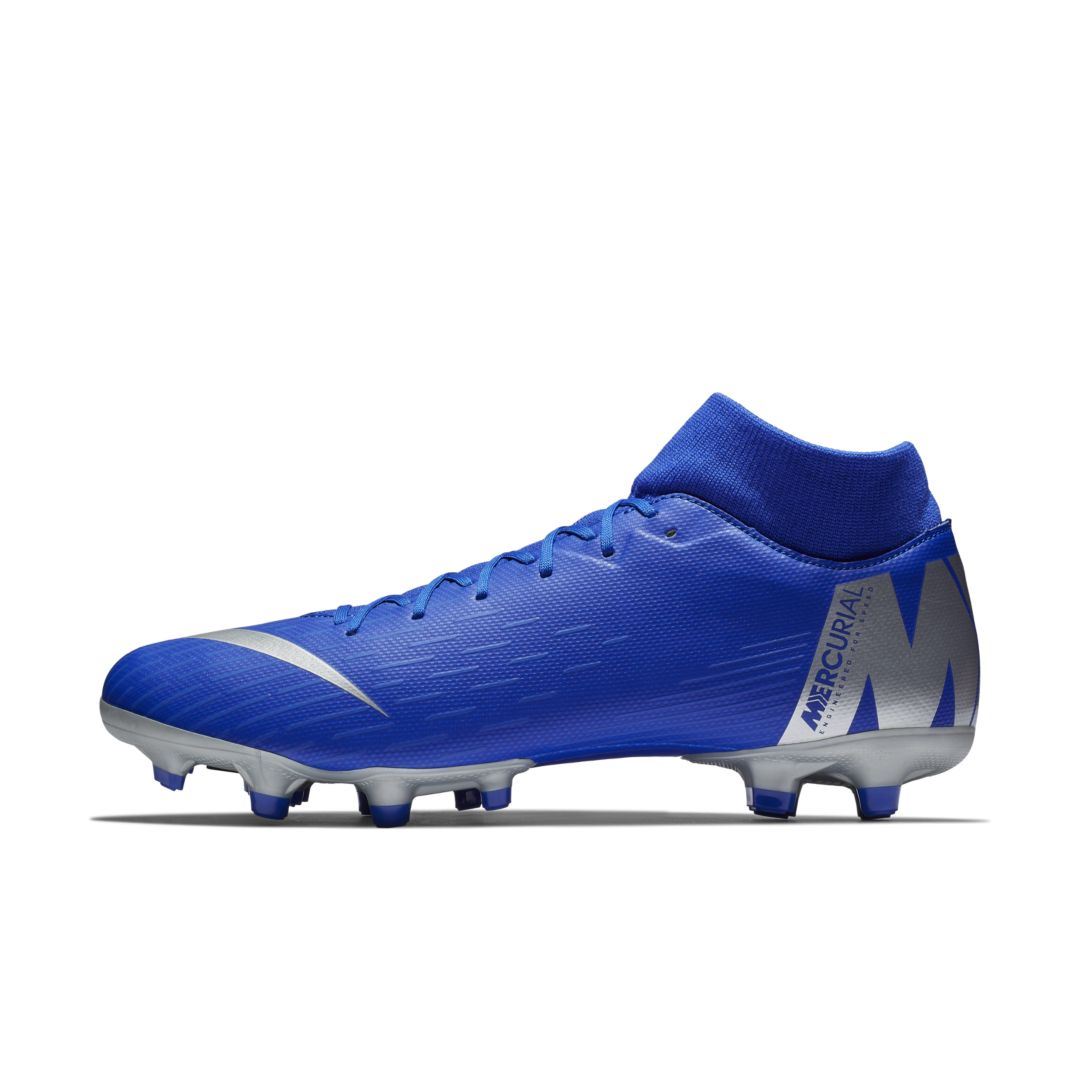 fcb2aa790 Nike Mercurial Superfly 6 Academy MG Multi-Ground Soccer Cleat Size 5.5  (Racer Blue)