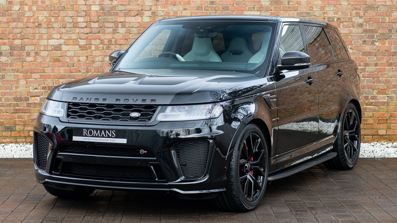 Used Land Rovers >> 2019 Used Land Rover Range Rover Sport Svr Santorini Black Lambo