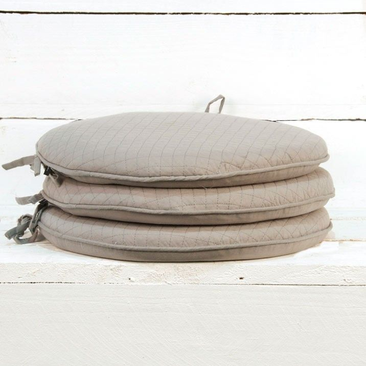 Round Chairpad   Our 100% Pure Cotton Chair Pads Make Sitting For Those  Enjoyable Long