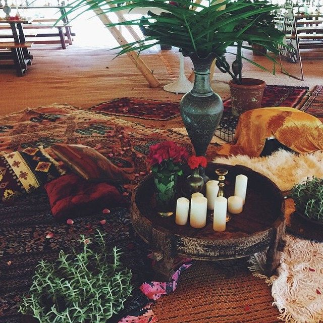More Gorgeousness From Levi And Sara S Wedding On The Weekend At Shambamalaika Sophie From Peppahart Layered Cushions And Rugs Around The Dance Floor For Guests To Chill Out On With Plants From