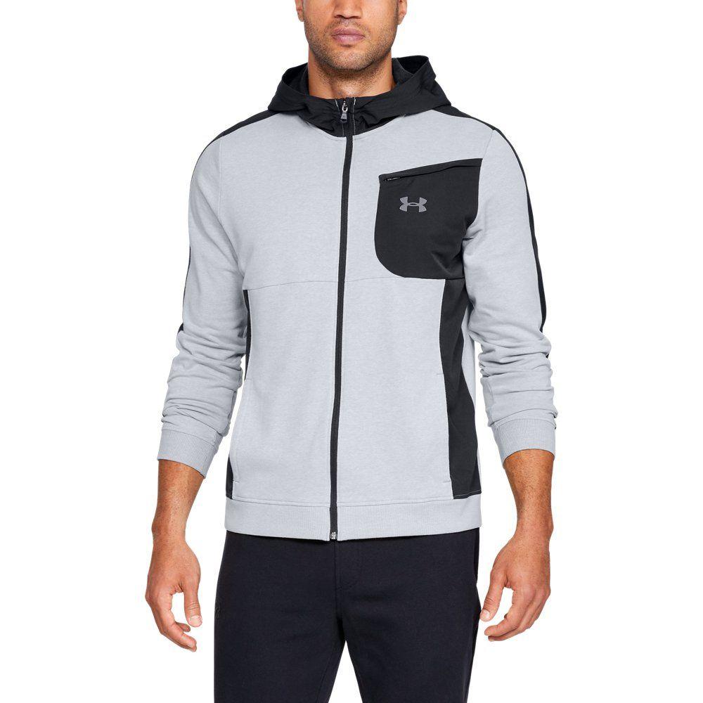 ac309a5b1f Men's UA Microthread Terry Full Zip Hoodie | Products | Full zip ...
