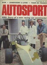 Autosport Sept 30th 1971 *Porsche 911E & 911T & 911S*