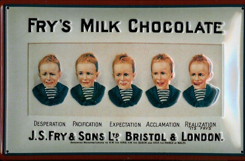J.S.Fry  Sons Bristol  London - Fry's Milk Chocolate - Chocolate - Food