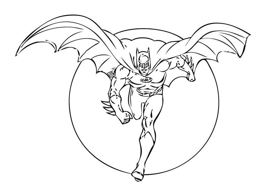 batman coloring pages - Batman Coloring Books