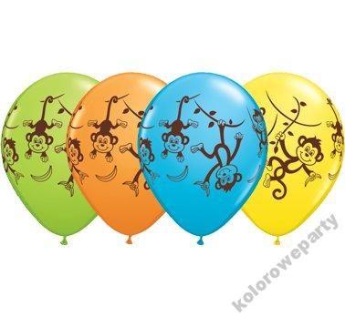 Balon Balony Urodziny Kolorowe Malpki Mix 2 Szt 5154424273 Oficjalne Archiwum Allegro Art Fictional Characters Character