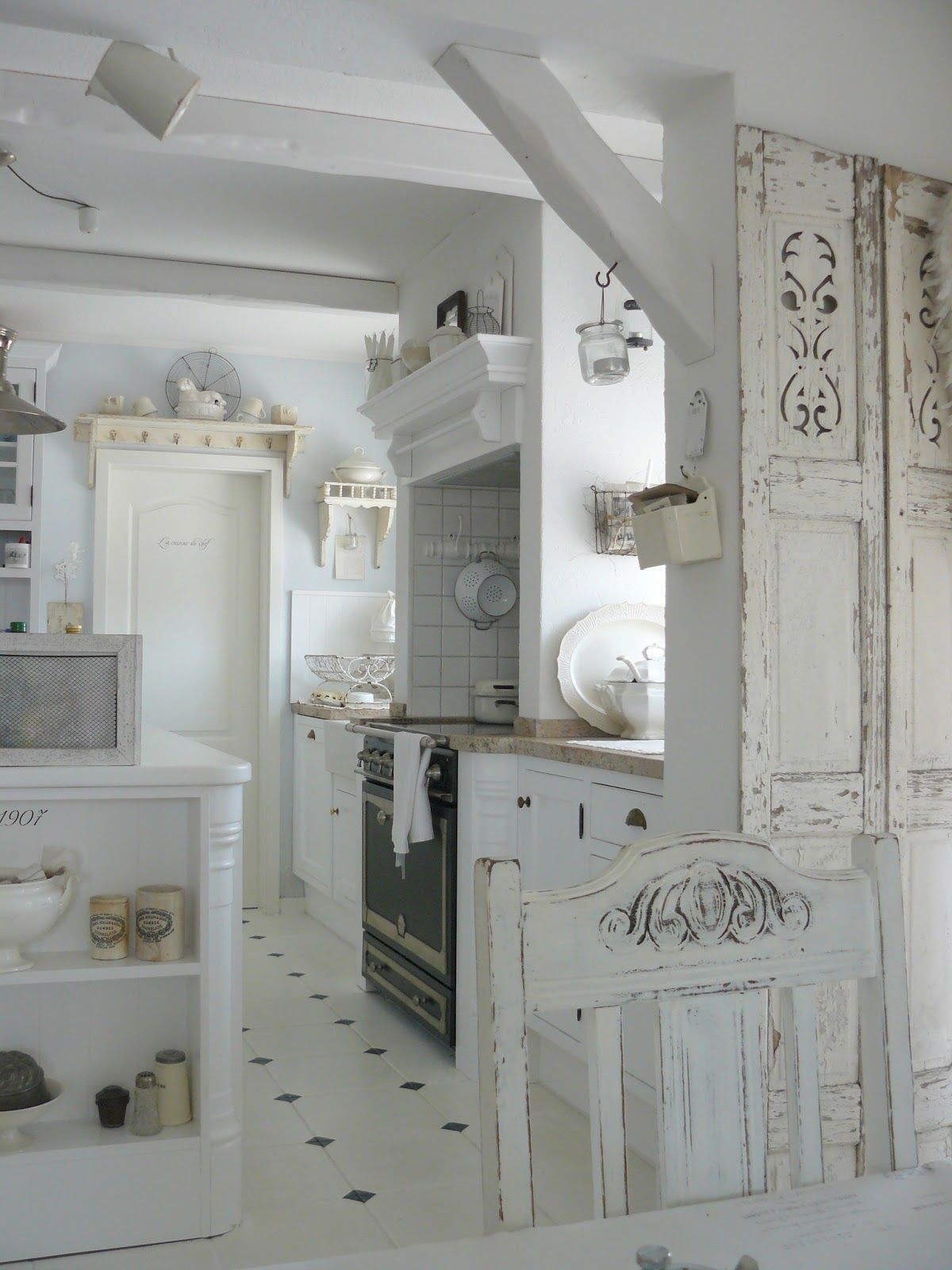 1000  images about shabby kitchen blanc de blanc on pinterest ...