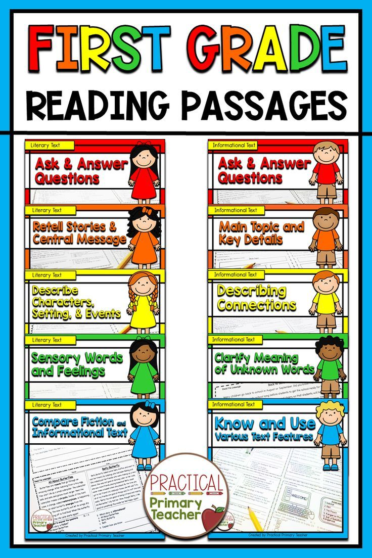 Reading Passages And Questions Standards Based In 2020 Reading