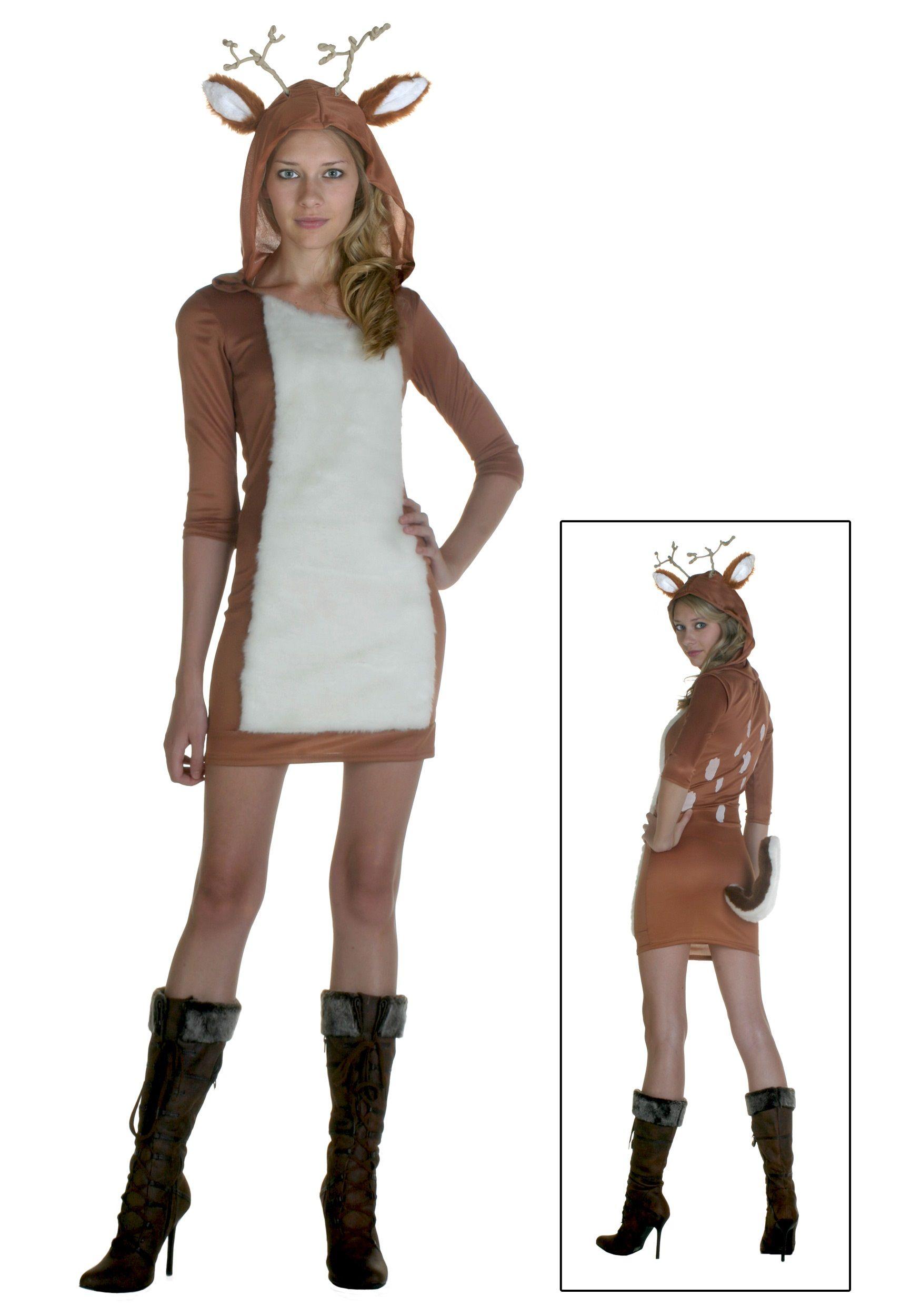 Adult Sexy Deer Costume | eBay