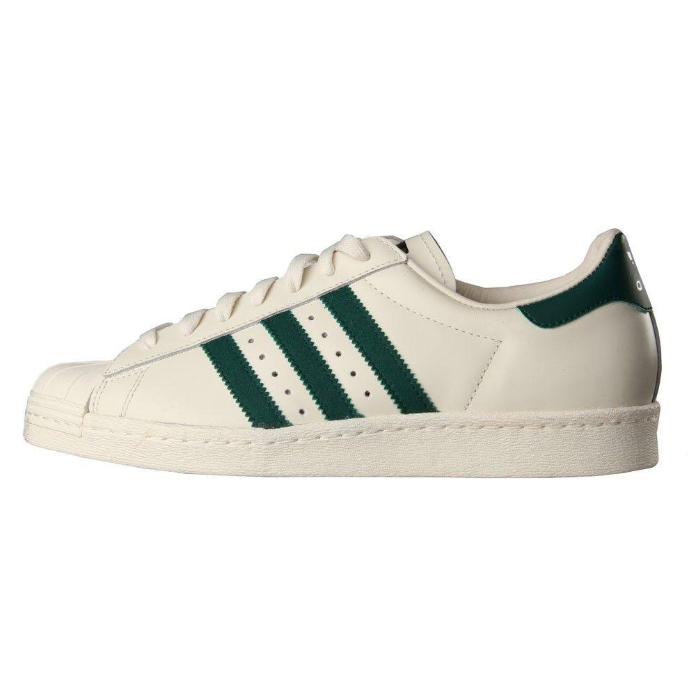 adidas Originals SUPERSTAR - Trainers - footwear white/collegiate green yEomZZx7dP