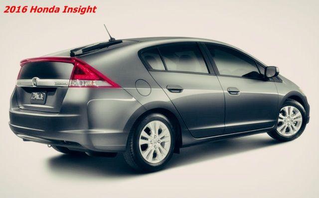 2016 Honda Insight Hybrid Price