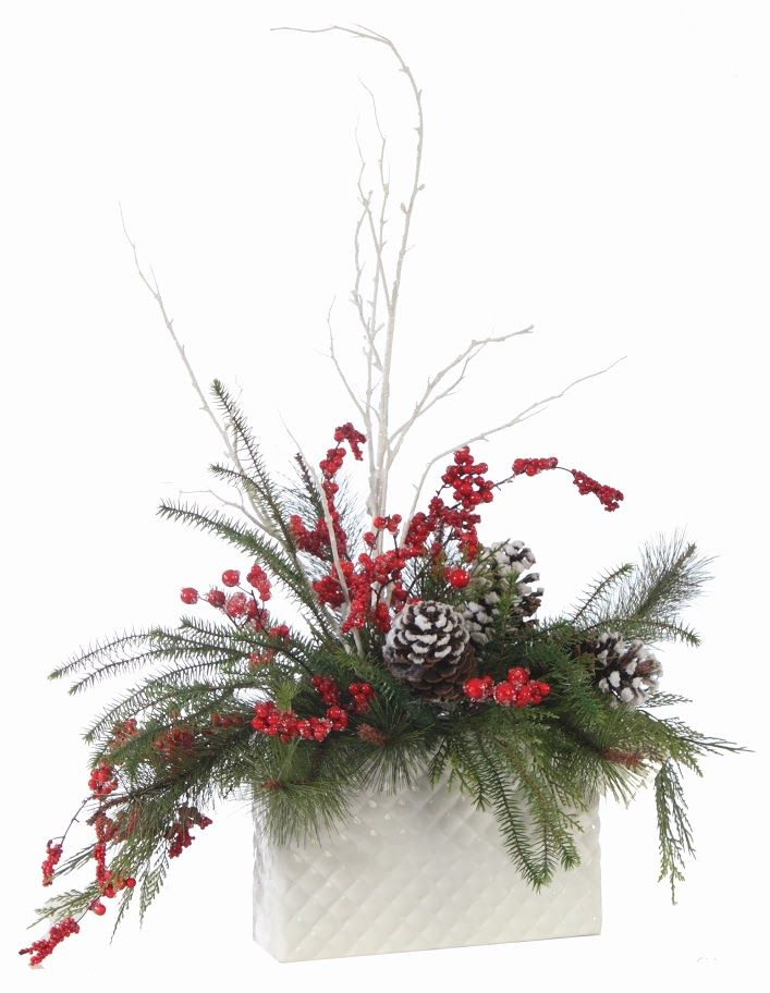 Christmas floral designs wreaths swags and arrangements