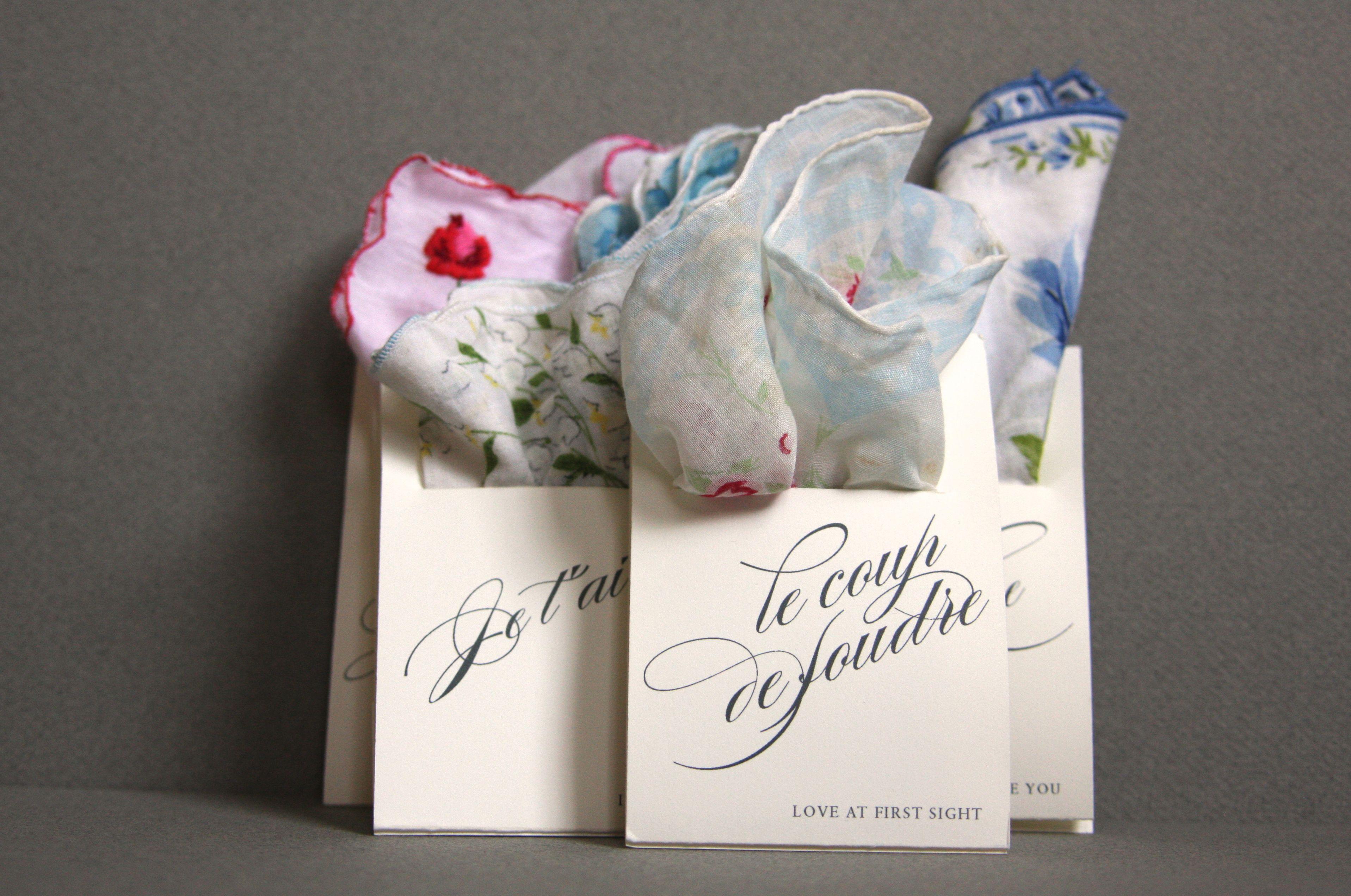 Handkerchief Holders