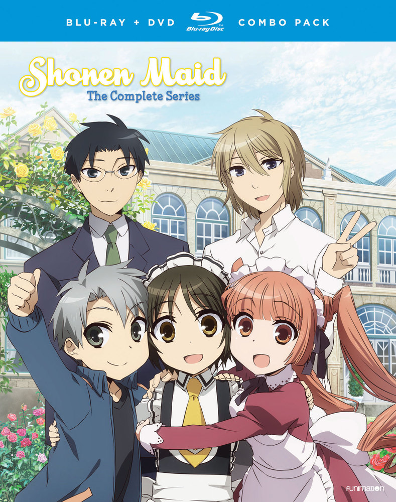 Shonen Maid The Complete Series [Bluray/DVD] [4 Discs