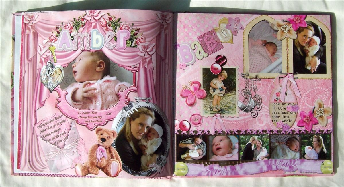 baby 1st year photo album ideas click to view larger photo wall