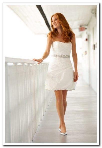 Lovely Short Dresses For The Bride S Comfort