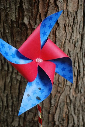 ~~HOW TO MAKE PAPER PINWHEELS~~  Check Us Out On Facebook! https://www.facebook.com/MothersByDayHerosByNight