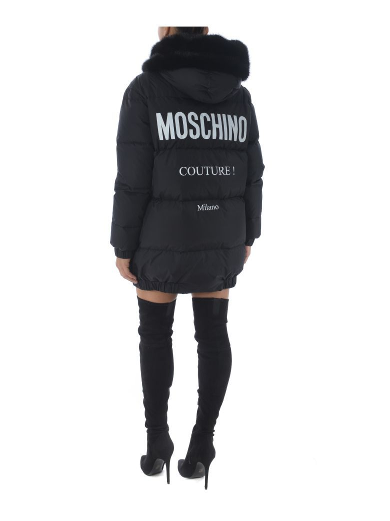 e86a3373 Moschino Fur Padded Jacket in 2019 | Great Pieces | Padded jacket ...