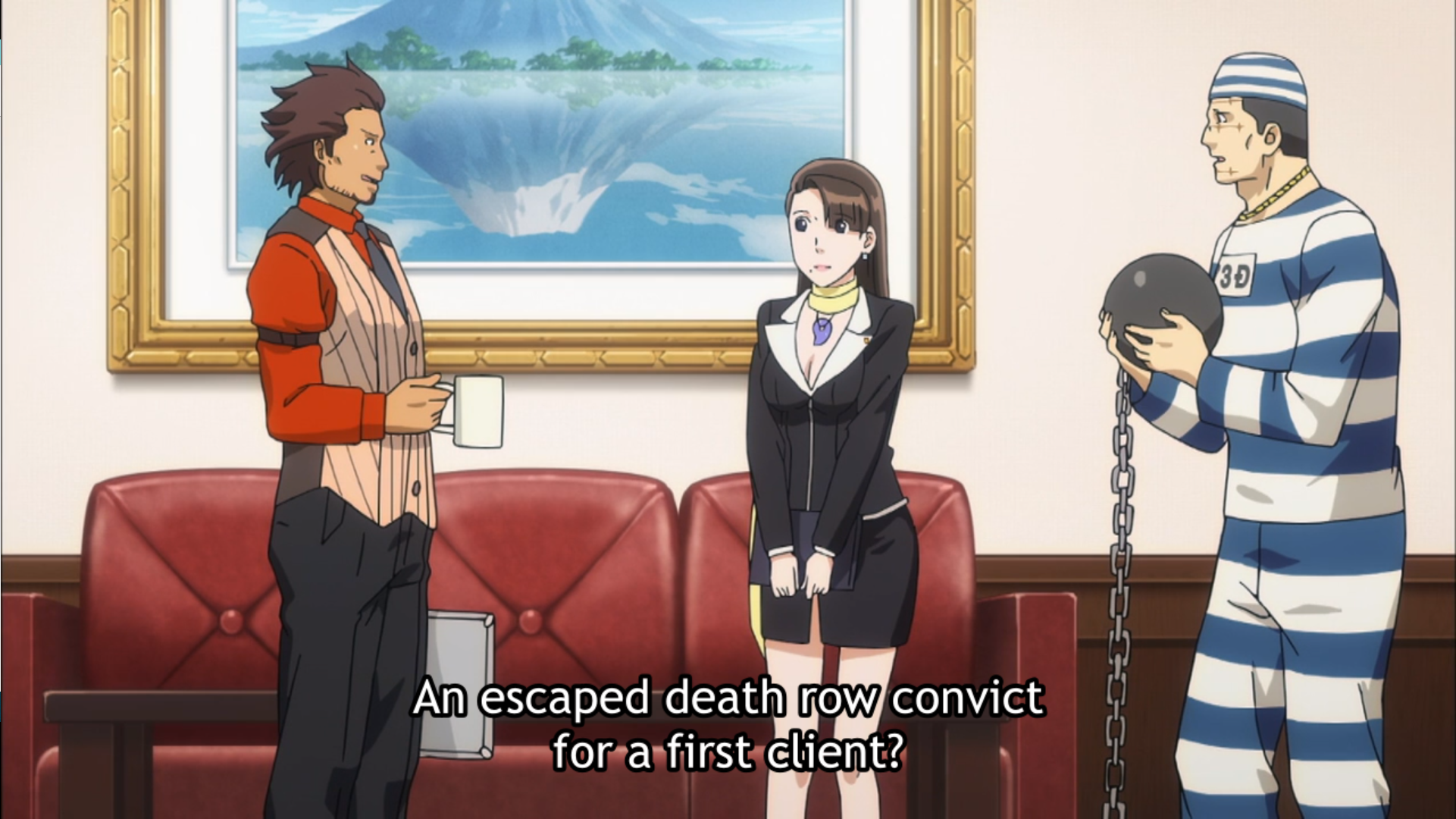 ace attorney anime season 2 characters