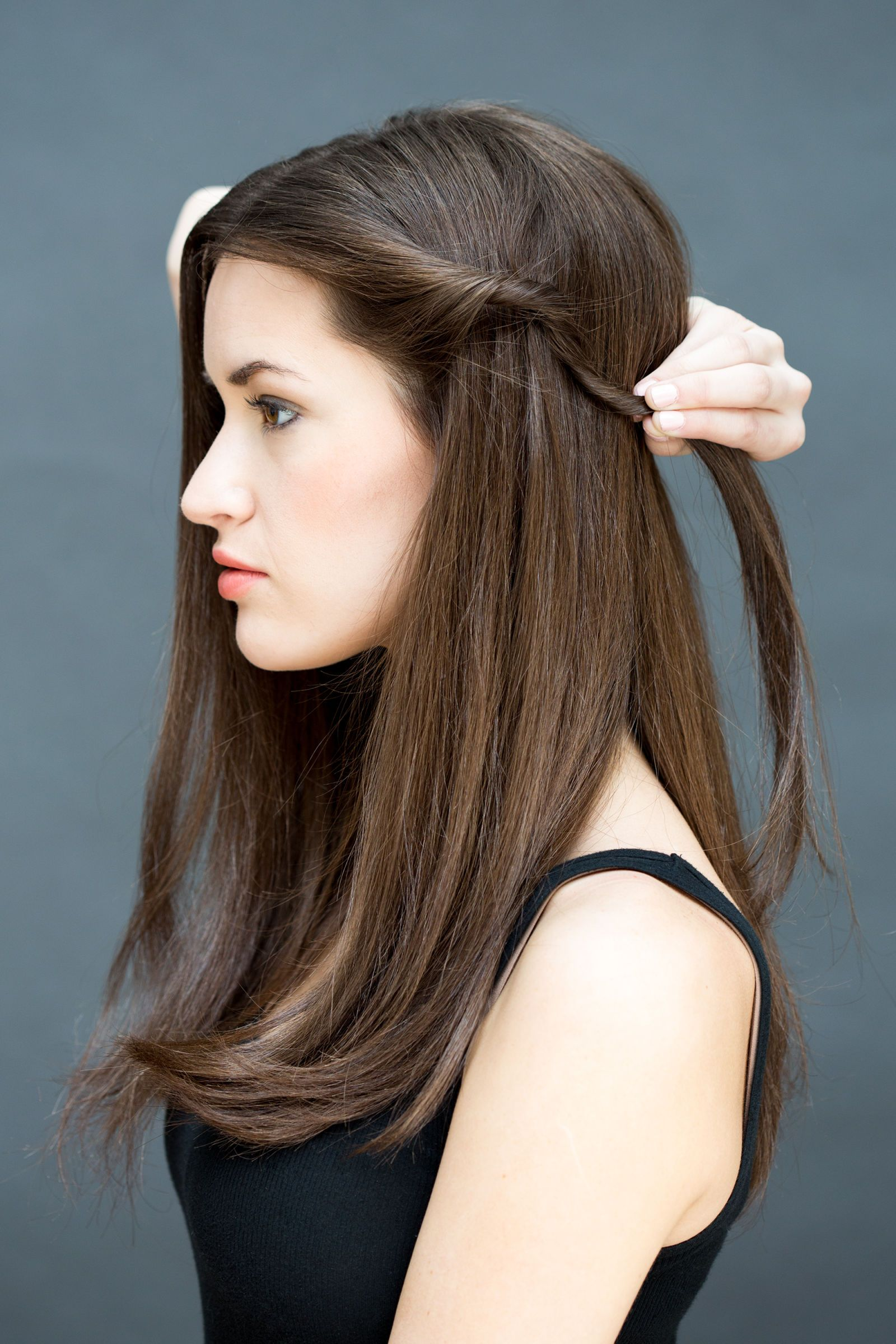 Super Easy Hairstyles You Can Do In Less Than A Minute Hair Styles Hair Beauty Easy Hairstyles