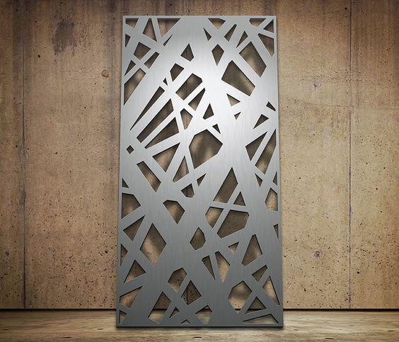 Laser Cutting Stainless Steel Sheet For Interior Decoration