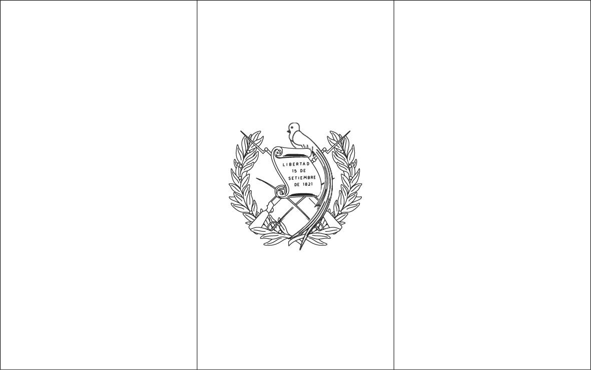 Guatemala Flag Coloring Pages Jpg 1 181 739 Pixels Flag Coloring