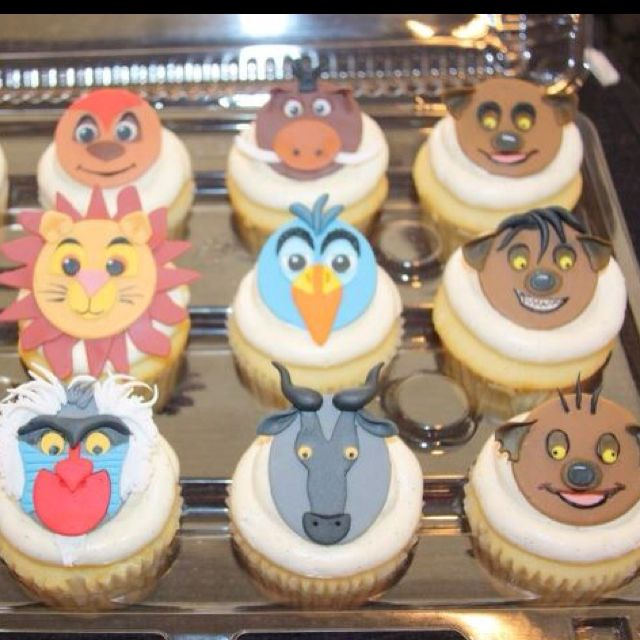 Lion King Cupcakes By Gennifer I Think Rafiki Is Perfect