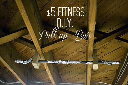 Diy Pullup Bar 5 Fitness Diy Pull Up Bar Pull Up Bar Diy