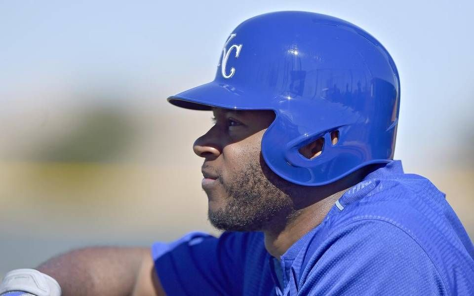 Kansas City Royals' Lorenzo Cain during Wednesday's spring training workout on February 24, 2016 in Surprise, Az.
