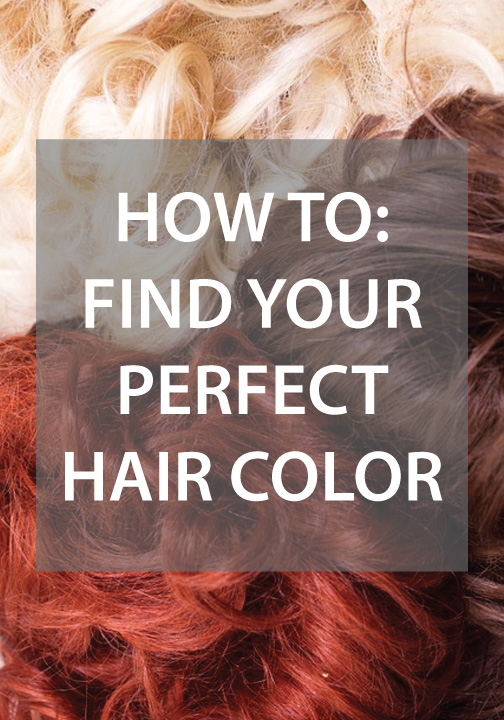 Find the perfect hair color that suits you!