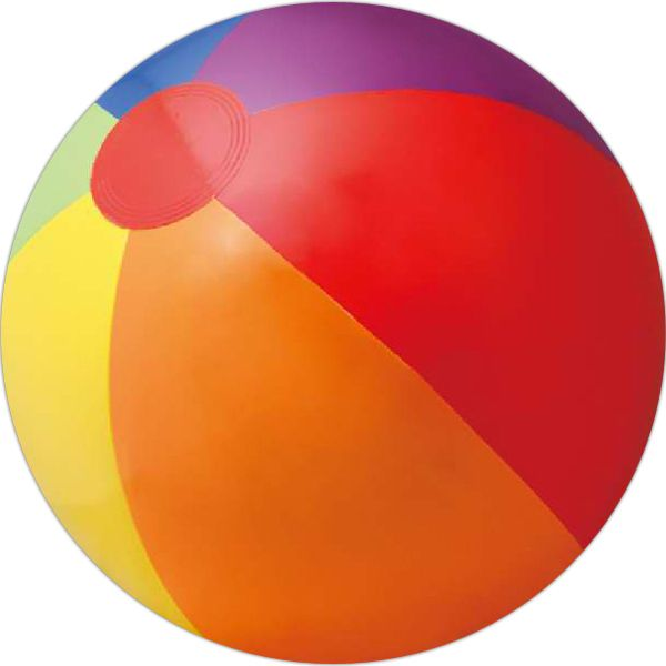 Inflatable Solid Rainbow Beach Ball Size 16 Quot Deflated With