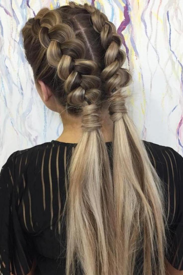 4 Trendy Easy Summer Hairstyles Hair Styles Braids For Long Hair Braided Hairstyles Easy