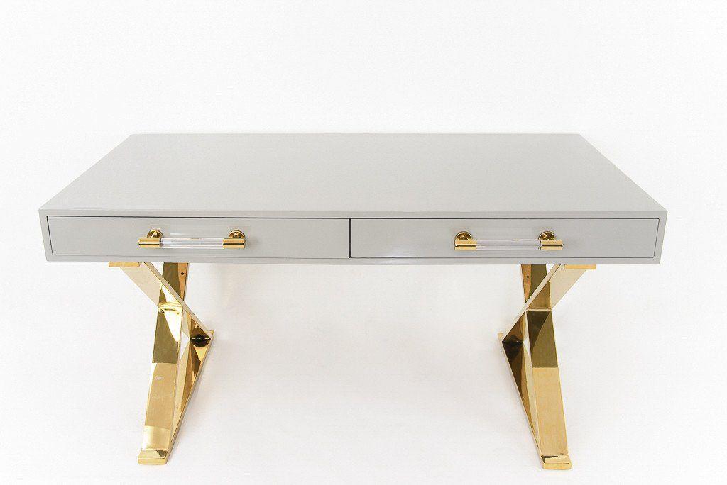 Cape Town Desk Desk Lucite Desk Modern Desk