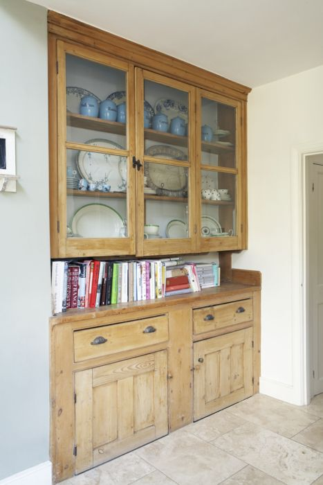 Welsh Dresser Love The Idea Of Ing A Into An Alcove